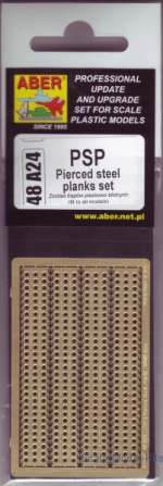 ABR48-A24 1/48 Aber48 A24 PSP (Pierced steel planks) set Aber for diarams