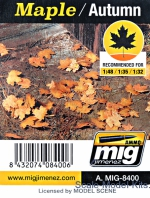 A-MIG-8400 Leaves: Maple - Autumn A-MIG-8400