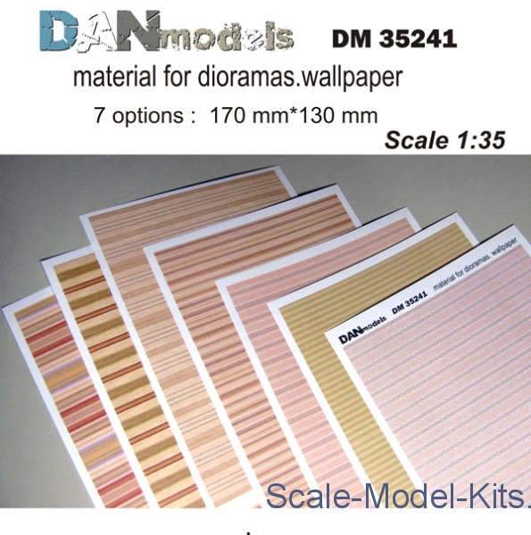 DAN Models - Material for dioramas, wallpaper (7 types