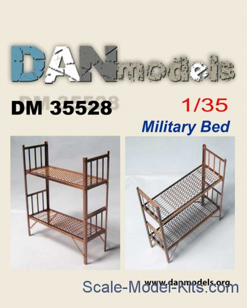 1/35 Military bed, 2 pcs.