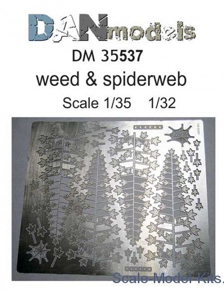 Photo-etched set: Weed and spiderweb