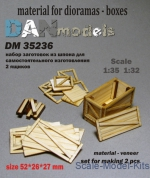 DAN35236 Material for dioramas - boxes, 2 pcs
