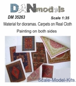 DAN35263 Material for dioramas. Carpets on Real Cloth. Painting on both sides #3