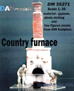 DAN35271 Country furnace and two figures (resin) from ASR sculpture