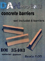 DAN35403 Concrete barriers (6 pcs)