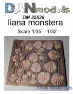 DAN35538 Photo-etched set liana monstera