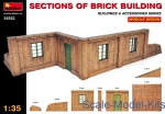 MA35552 Sections of Brick Building. Module design.