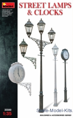 MA35560 Street lamps & Clocks