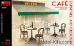 MA35569 Cafe furniture and crockery