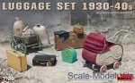 MA35582 Luggage set, 1930-40s