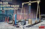 MA35589 5 ton gantry crane & equipment