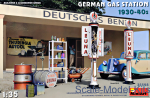 MA35598 German Gas Station 1930-40s