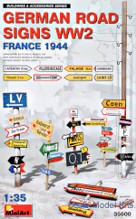 MA35600 German road signs WW2 (France 1944)