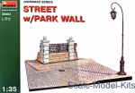 MA36003 Diorama with park wall