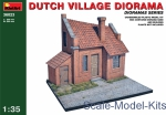 MA36023 Dutch village diorama