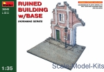 MA36049 Ruined building with base