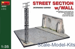 MA36052 1/35 MiniArt 36052 - Street section with wall