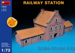 MA72015 1/72 MiniArt 72015 - Railway station