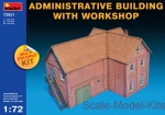 MA72021 1/72 MiniArt 72021 - Administrative Building with Workshop