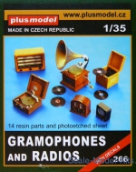 PLUSM2660 Gramphones and Radios (14pcs.)