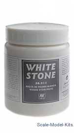 VLJ26211 Earth effects, White Stone Paste, 200 ml