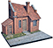 Buildings and Diorama plastic scale model kits